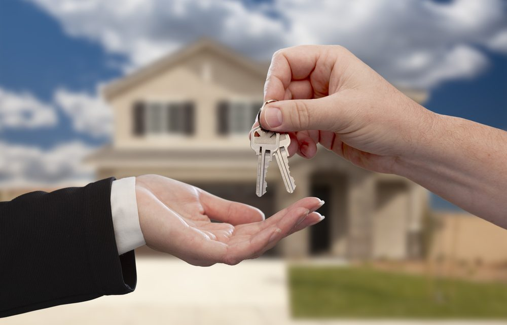 Things to do before handing over your property